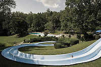 Waterslide in the great smoky mountains