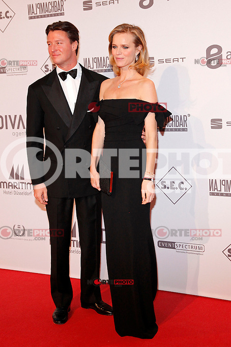Eva Herzigova and husband Gregorio Marsiaj attending the UNESCO GALA 2012 in the Maritim Hotel, Duesseldorf, 27.10.2012...Credit: Tatiana Back/face to face /MediaPunch Inc. ***FOR USA ONLY*** ***Online Only for USA Weekly Print Magazines*** /NortePhoto .<br />
