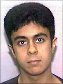 Washington, DC - September 26,  2001 -- Photo released by FBI of  Saeed Alghamdi, one of the alleged hijackers of United Airlines Boeing 757 designated as Flight #93, from Newark to San Francisco.  The flight departed Newark at 8:42 AM on Tuesday, September 11, 2001 and crashed in Stony Creek Township, PA at 10:03 AM..Credit: FBI via CNP