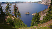 The Phantom Ship at Crater Lake National Park, Oregon