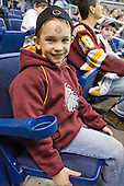 7 year old Sam Anderson's favorite player is Kenny Reiter. The Andersons made the trek east from their hometown of Hermantown, Minnesota. - The University of Minnesota-Duluth Bulldogs defeated the Union College Dutchmen 2-0 in their NCAA East Regional Semi-Final on Friday, March 25, 2011, at Webster Bank Arena at Harbor Yard in Bridgeport, Connecticut.
