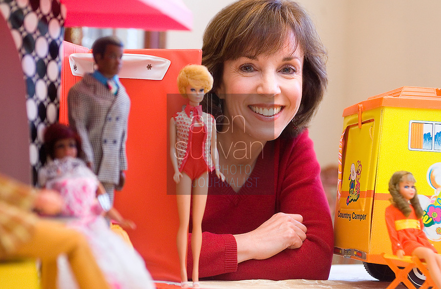 "Debby Stone, 46, has amassed a collection of Barbie dolls from the late 1960's and early 70's. ""I can't imagine selling them,"" she said of the dolls, of which her mother once advised to hold on to. Stone's oldest doll dates to 1968 or 1969, she said. On March 9, Barbie will officially turn 50 years old."