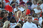 Ole Miss fans at Vaught-Hemingway Stadium in Oxford, Miss. on Saturday, September 1, 2012.