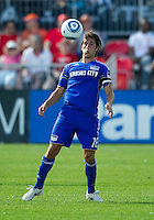 05 June 2010: Kansas City Wizards forward Josh Wolff #16 in action during a game between the Kansas City Wizards and Toronto FC at BMO Field in Toronto..The game ended in a 0-0 draw.