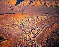 Hiurricane Cliffs and ridges, Aerial view   Southwestern Utah/Arizona