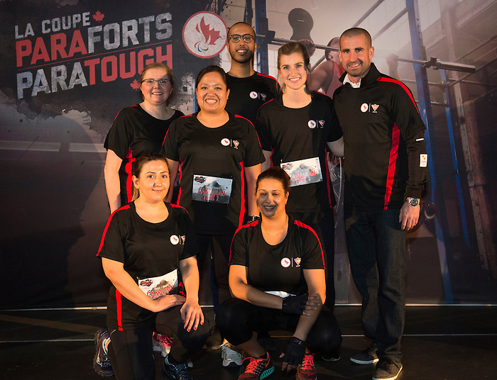 FEBRUARY 23,  2017: TORONTO, ON, The inagural ParaTough Cup was held at the University of Toronto, sixteen corporate teams contested for the right to claim the prize.