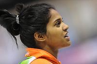 SCHAATSEN: CALGARY: Olympic Oval, 08-11-2013, Essent ISU World Cup, 500m, Anice Das (NED), ©foto Martin de Jong