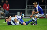 FUSSBALL   1. BUNDESLIGA   SAISON 2011/2012   SUPERCUP FC Schalke 04 - Borussia Dortmund            23.07.2011 Torwart Ralf FAEHRMANN, Kyriakos PAPADOPOULOS und Lewis HOLTBY (v.l., alle Schalke) jubeln nach dem Elfmeterschiessen