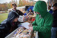 Eastern Tennesse:  Food is delivered to a remote trailer community where unemployment leaves most residents with food insecurity.  Families are often forced to choose between heating their mountain homes or purchasing food.