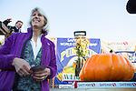 Local residents participate in Safeway World Championship Pumpkin Weigh-off