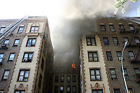 Fire in Brooklyn, NY