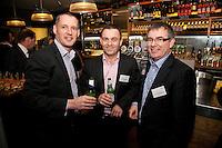 Left to right are Darren Fretwell, David Carlton Ashton and John Land all from Svenska Handelsbanken