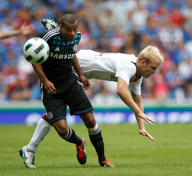 Ashley Cole and Steven Naismith