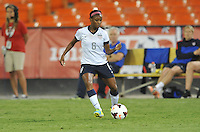 Crystal Dunn (8) of the USWNT.  The USWNT defeated Mexico 7-0 during an international friendly, at RFK Stadium, Tuesday September 3 , 2013.