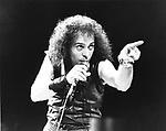 Dio 1984 Ronnie James Dio....