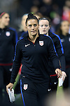 CHESTER, PA - MARCH 01: Ali Krieger (USA). The United States Women's National Team played the Germany Women's National Team as part of the She Believes Cup on March 1, 2017, at Talen Engery Stadium in Chester, PA. The United States won the game 1-0.