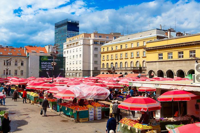 Dolac Flower Market [ Tr?nica Dolac ] , Zagreb, Croatia