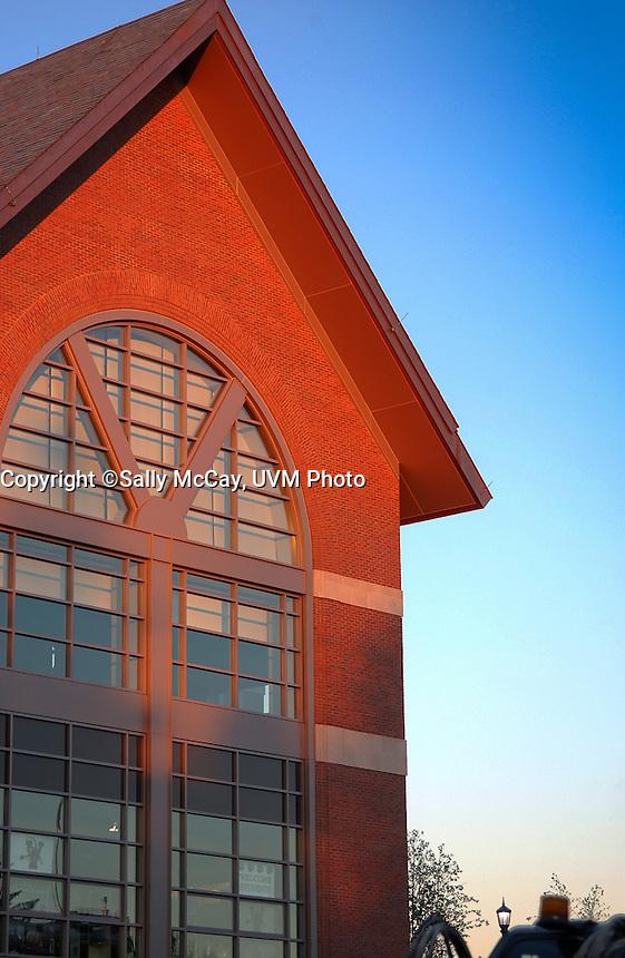 Davis Center, UVM Campus Fall The UVM Davis Center