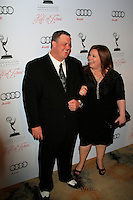 LOS ANGELES - MAR 1:  Billy Gardell, Melissa McCarthy arrives at the Academy of Television Arts & Sciences 21st Annual Hall of Fame Ceremony at the Beverly Hills Hotel on March 1, 2012 in Beverly Hills, CA