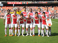 AFC Ajax Starting Eleven.  AFC Ajax defeated DC United 2-1 during an International Friendly at RFK Stadium Sunday May 22, 2011.