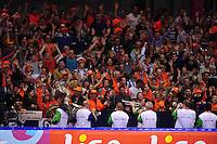 SCHAATSEN: HEERENVEEN: Thialf, Essent ISU World Single Distances Championships 2012, 23-03-2012, Oranje Schaatspubliek, Dweilorkest Kleintje Pils, ©foto Martin de Jong