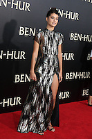 "HOLLYWOOD, CA - AUGUST 16: Sofia Black D'Elia at the LA Premiere of the Paramount Pictures and Metro-Goldwyn-Mayer Pictures title ""Ben-Hur"", at the TCL Chinese Theatre IMAX on August 16, 2016 in Hollywood, California. Credit: David Edwards/MediaPunch"