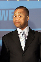 January 5, 2006: Oscar Award Winning actor Cuba Gooding Jr. joined the FSN West broadcasting booth for live coverage of  NHL Los Angeles Kings 4-0 win over the Phoenix Coyotes at the Staples Center, CA.