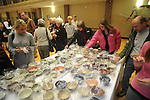 Empty Bowls fundraiser at Oxford-University United Methoodist Church in Oxford, Miss. on Thursday, February 11, 2010.