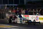 May 18, 2012; Topeka, KS, USA: NHRA top fuel dragster driver Bob Vandergriff Jr during qualifying for the Summer Nationals at Heartland Park Topeka. Mandatory Credit: Mark J. Rebilas-