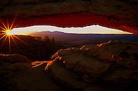 Sunrise at Mesa Arch, Canyonlands  #L12