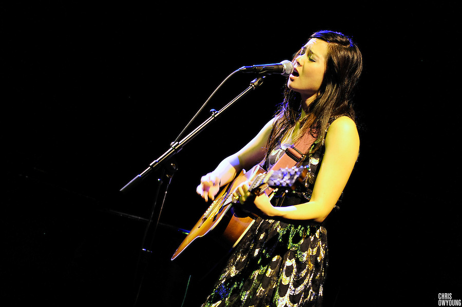 Marie Digby performs at Joe's Pub, NYC. December 1, 2009.