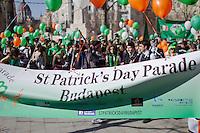 Saint Patrick's Day parade 2012 Budapest