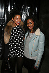 Hannah Bronfman and VaShtie Attends alice+olivia by Stacey Bendet & David Choe Present a Night of Fashion and Art at 450 West 14th Street, NY