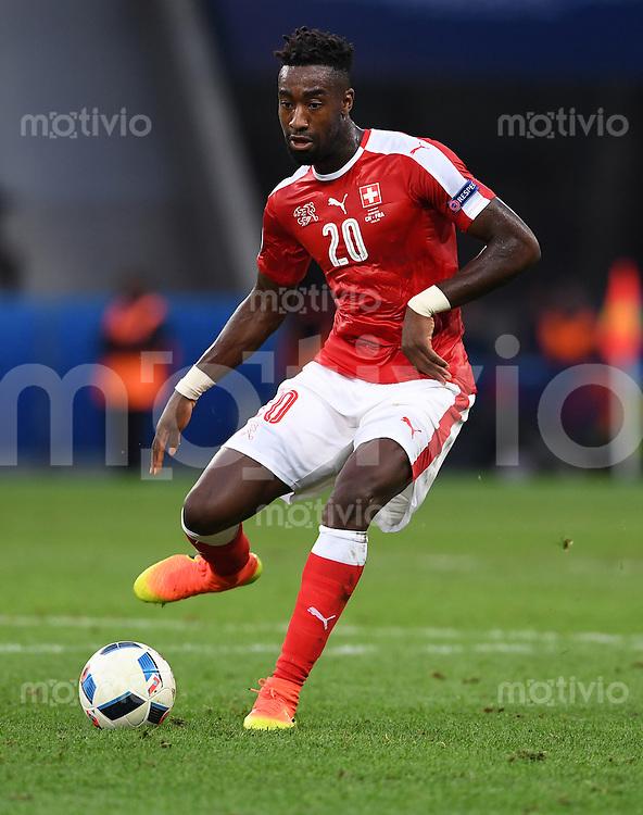 FUSSBALL EURO 2016 GRUPPE A IN LILLE Schweiz - Frankreich     19.06.2016 Johan Djourou (Schweiz)