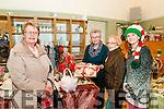 Seanchai Craft Fair : Noreen Buckley, Ella O'Sullivan, Mary Boyer & Kelly St John  attending  the craft fair in the Seanchai Centre , Listowel as part of the Listowel Food fair.