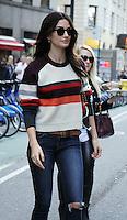 NEW YORK, NY-November 01: Lily Aldridge  at Victoria's Secret Office  in New York.November 01, 2016. Credit:RW/MediaPunch