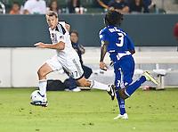 CARSON, CA – August 6, 2011: LA Galaxy forward Adam Cristman (17) during the match between LA Galaxy and FC Dallas at the Home Depot Center in Carson, California. Final score LA Galaxy 3, FC Dallas 1.