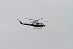 NYPD Helicopter Hovers Above at the 6th Annual T.E.A.L Walk/Run Held in Prospect Park Brooklyn New York