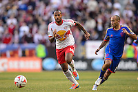 Thierry Henry (14) of the New York Red Bulls. The New York Red Bulls and the Colorado Rapids played to a 1-1 tie during a Major League Soccer (MLS) match at Red Bull Arena in Harrison, NJ, on March 15, 2014.