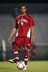 NC State's Bryant Salter on Friday, October 21st, 2005 at Koskinen Stadium in Durham, North Carolina. The Duke University Blue Devils defeated the North Carolina State University Wolfpack 6-0 during an NCAA Division I Men's Soccer game.