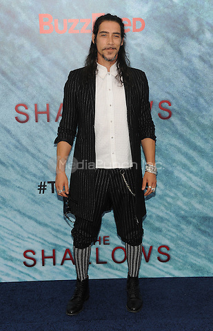 "NEW YORK, NY - June 21:Oscar Jaenada attends the NEw York premiere for ""The Shallow"" at the Loews AMC on June 21, 2016   in New York City .  Photo Credit: John Palmer/ MediaPunch"