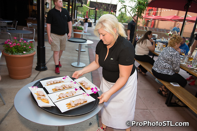 Table Talk presented by St. Louis Magazine at Anheuser-Busch InBev Bier Garden in St. Louis, Mo on July 21, 2014.