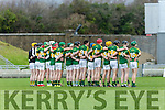 Kerry at the Munster Hurling League match Kerry v Clare in Austin Stack Park on Sunday