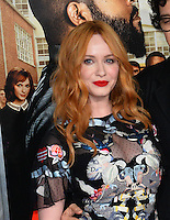 Christina Hendricks at the world premiere for &quot;Fist Fight&quot; at the Regency Village Theatre, Westwood, Los Angeles, USA 13 February  2017<br /> Picture: Paul Smith/Featureflash/SilverHub 0208 004 5359 sales@silverhubmedia.com