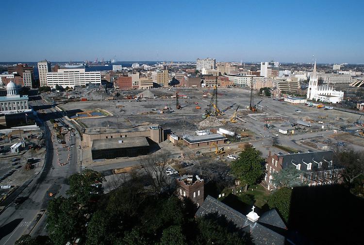 1996 DECEMBER 20..Redevelopment..Macarthur Center.Downtown North (R-8)..LOOKING  WEST...NEG#.NRHA#..