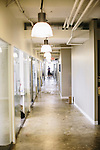 A hallway at VOX Media, in Washington, D.C.