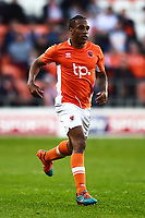 Blackpool's Neil Danns in action<br /> <br /> Photographer Richard Martin-Roberts/CameraSport<br /> <br /> The EFL Sky Bet League Two Play-Off Semi Final First Leg - Blackpool v Luton Town - Sunday May 14th 2017 - Bloomfield Road - Blackpool<br /> <br /> World Copyright &copy; 2017 CameraSport. All rights reserved. 43 Linden Ave. Countesthorpe. Leicester. England. LE8 5PG - Tel: +44 (0) 116 277 4147 - admin@camerasport.com - www.camerasport.com