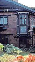 Greene & Greene: Blacker House, Pasadena.  Photo '78.