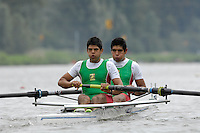 Amsterdam, NETHERLANDS, MEX BM2-,  2011 FISA U23 World Rowing Championships, Wednesday, 20/07/2011 [Mandatory credit:  Intersport Images]