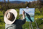 Painters take to Los Altos Civic Center